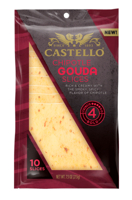 Castello® Chipotle Gouda Slices