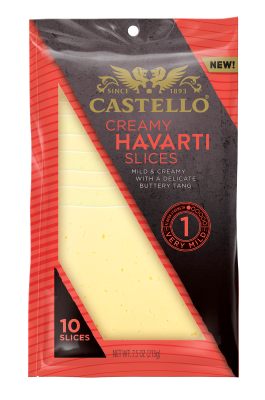 Castello® Creamy Havarti Slices