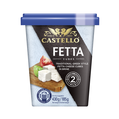 Castello® Traditional Fetta Cubes in Brine, 430g