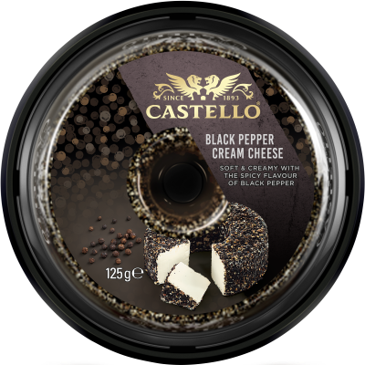 Castello® Black Pepper Cream Cheese