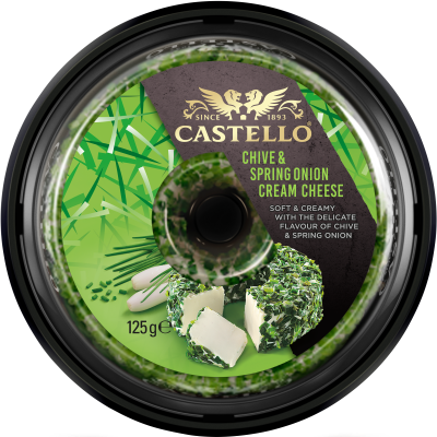 Castello® Chive & Spring Onion Cream Cheese