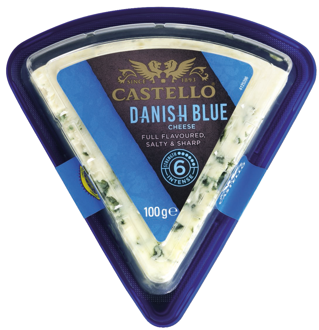 Castello® Traditional Danish Blue, 100g