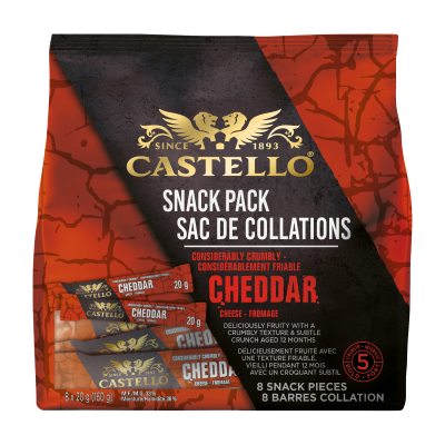 Castello® Considérablement Friable Cheddar Sac De Collations