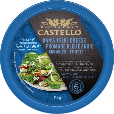 Castello® Traditional Crumbled Danish Blue