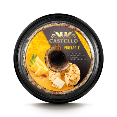 Castello® Cream Cheese with Pineapple