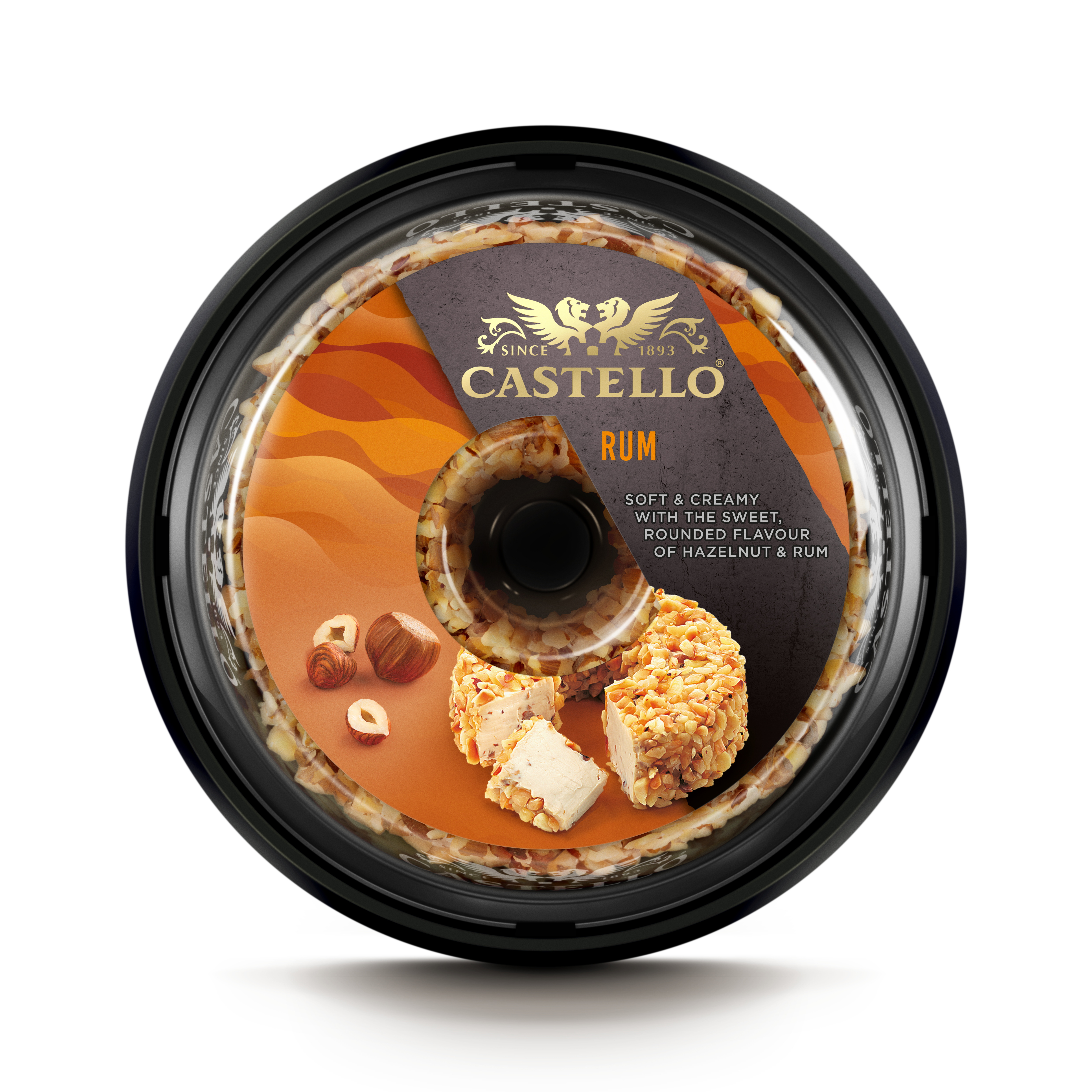 Castello® Cream Cheese with Rum and Nuts