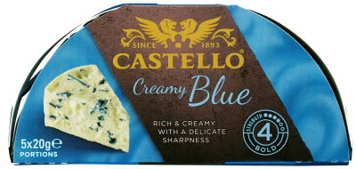 Castello® Creamy Blue Portion Pack