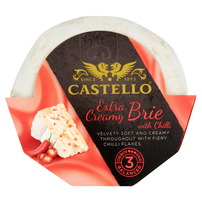 Castello® Extra Creamy Brie with Chilli